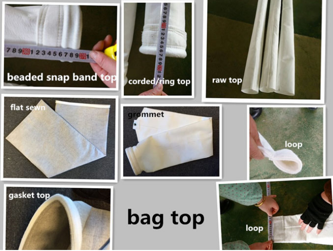 Chemical Stability Liquid Filter Bag , Water Filtration Bag Snap Band Bottom