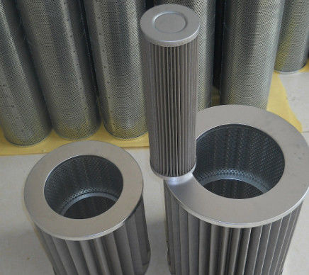 4KG Hydraulic Cartridge Filter Elements 25um Stainless Steel Material