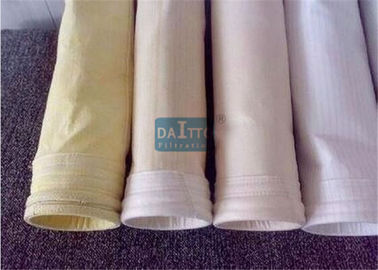 China Fiberglass Mix PPS Industrial Filter Bags Carefully Fabricated Ensuring Dust Tight Seal factory