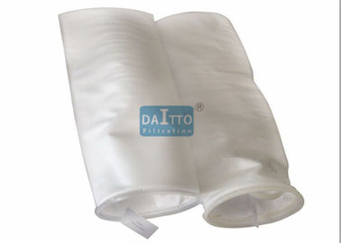 China Removing Gels Polypropylene Filter Bags , High Efficiency Filter Bags Graded Pore Structure factory