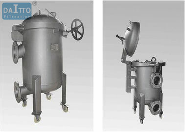 Quick Open Sock Filter Housing Multiple Bags Design For Bag Filtration System