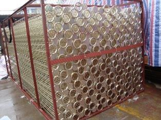 Stainless Steel Air Filter Cage Organic Silicon Surface In Power Generation Plant