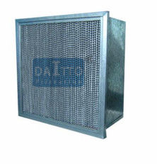 Flange Separator High Flow Panel Filter Little Weight Easily Operated