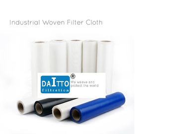 Durable Nylon Woven Filter Cloth Less Jam Possibility Resisting Strong Alkali