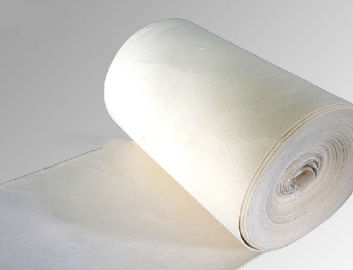 PTFE / TEFLON Nonwoven Needle Felt Air Filter Fabric For Dust Collector