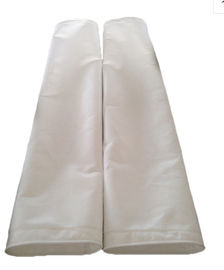 Conductive Copper Strip Polyester Filter Bag Length 8m For Waste Incineration